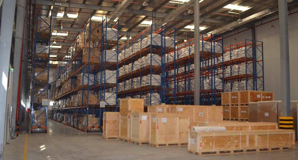 A/C Warehousing facility at GWL: A small description