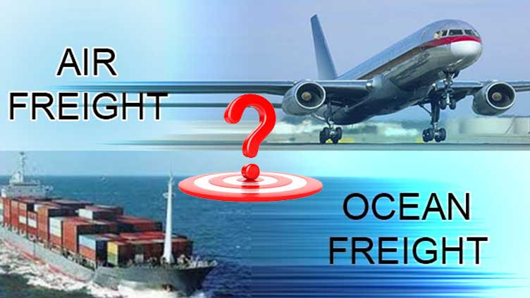 Freight Forwarding Service - Ocean Freight v/s Air Freight: The Better Choice
